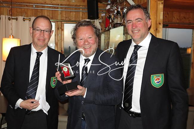 TEXEL - De Cocksdorp - Henk Koster (m)  Eric Korver  en Ger Laan.   Golfbaan De Texelse. COPYRIGHT KOEN SUYK