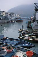 Fishing Boats - Tai O, Lantau, Hong Kong