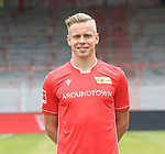 06.07.2019, Stadion an der Wuhlheide, Berlin, GER, 2.FBL, 1.FC UNION BERLIN , Mannschaftsfoto, Portraits, <br /> DFL  regulations prohibit any use of photographs as image sequences and/or quasi-video<br /> im Bild Lennard Maloney (1.FC Union Berlin #33)<br /> <br /> <br />      <br /> Foto © nordphoto / Engler
