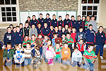 Grotta O'Neills hurling club under ten and eleven teams who were presented with Eddie Godley Memorial and John O'Gorman Trophies at a function in the Columbus Centre Killflynn on Friday night.