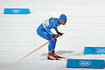 Apostolos Angelis (GRE). Mens sprint classic qualification. Cross country skiing. Alpensia Croos-Country skiing centre. Pyeongchang2018 winter Olympics. Alpensia. Republic of Korea. 13/02/2018. ~ MANDATORY CREDIT Garry Bowden/SIPPA - NO UNAUTHORISED USE - +44 7837 394578