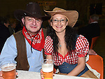 Pawel and Adrianna Zdziarska pictured at the barn dance at Oberstown farm. Photo:Colin Bell/pressphotos.ie