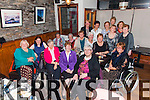 The Cahersiveen ICA ladies enjoying their Christmas Party in Camos Restaurant in Cahersiveen on Sunday night.