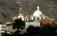 Spanien, Kanarische Inseln, Gran Canaria, Santa Lucia, Kuppelkirche