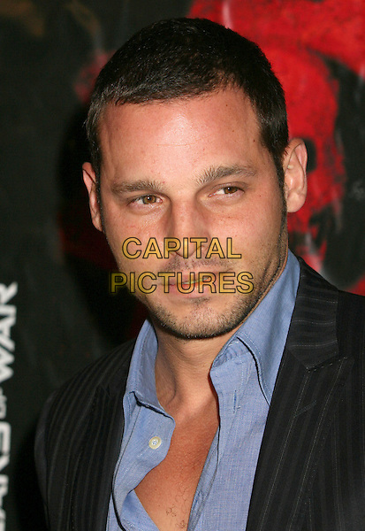 "JUSTIN CHAMBERS.Xbox 360 ""Gears of War"" Launch Party at Hollywood Forever Cemetery, Hollywood, California, USA..October 25th, 2006.Ref: ADM/BP.headshot portrait stubble.www.capitalpictures.com.sales@capitalpictures.com.©Byron Purvis/AdMedia/Capital Pictures."