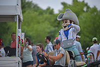 Dallas Cowboy mascot, Rowdy was on hand during round 3 of the AT&amp;T Byron Nelson, Trinity Forest Golf Club, at Dallas, Texas, USA. 5/19/2018.<br /> Picture: Golffile | Ken Murray<br /> <br /> <br /> All photo usage must carry mandatory copyright credit (&copy; Golffile | Ken Murray)