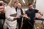 Uruguay / Montevideo / 2017<br /> Ingenier&iacute;a de muestra. Muestra de proyectos de investigaci&oacute;n por parte de estudiantes de diferentes ramas de la ingenier&iacute;a. Facultad de Ingenier&iacute;a, Montevideo, 19/10/2017. En la foto, la ministra de Industria Carolina Cosse.<br /> Foto: Ricardo Ant&uacute;nez / adhocFOTOS