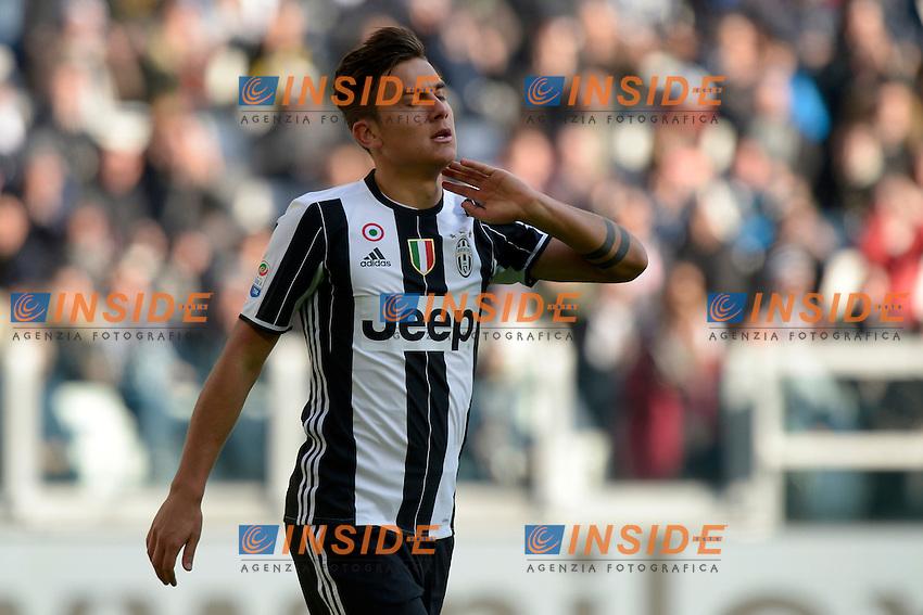 Paulo Dybala Juventus <br /> Torino 22-01-2017 Juventus Stadium Calcio Campionato Italiano Serie A 2016/2017 <br /> Juventus - Lazio <br /> Foto Filippo Alfero Insidefoto