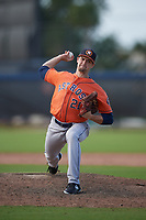 Houston Astros pitcher Tommy DeJuneas (21) during a Minor League Spring Training Intrasquad game on March 28, 2019 at the FITTEAM Ballpark of the Palm Beaches in West Palm Beach, Florida.  (Mike Janes/Four Seam Images)