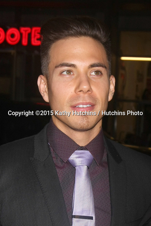 "LOS ANGELES - JAN 20:  Apolo Anton Ohno at the ""Manny"" Los Angeles Premiere at a TCL Chinese Theater on January 20, 2015 in Los Angeles, CA"