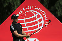 Henrik Stenson (SWE) on the 9th tee during the final round of the WGC HSBC Champions, Sheshan Golf Club, Shanghai, China. 03/11/2019.<br /> Picture Fran Caffrey / Golffile.ie<br /> <br /> All photo usage must carry mandatory copyright credit (© Golffile | Fran Caffrey)