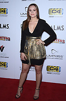 03 July 2019 - Las Vegas, NV - Hayley Orrantia. 11th Annual Fighters Only World MMA Awards Arrivals at Palms Casino Resort. Photo Credit: MJT/AdMedia