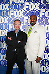 "Mark Valley ""Days of Our Lives"" - Chi McBride star in Human Target on Fox as he attends the FOX 2010 Programming Presentation (Upfronts) Post-Party on May 18, 2010 at Wollman Rink in Central Park, New York City, New York.  (Photo by Sue Coflin/Max Photos)"