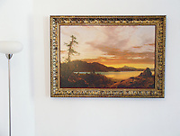 Reproduction of Sunset by Frederic Edwin Church <br />