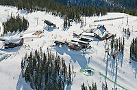 Keystone Ski Area. Dercum mountain. March 2014