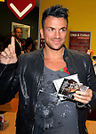 Peter Andre signing  copies of his new album 'Angels & Demons' at Sainsburys, London Colney..St Albans, England - 29.10.12