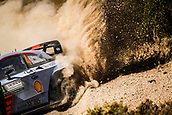 8th June 2017, Alghero, West Coast of Sardinia, Italy; WRC Rally of Sardina;  Paddon