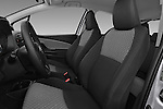 Front seat view of a 2015 Toyota Yaris LE 3-Door Liftback AT 3 Door Hatchback Front Seat car photos