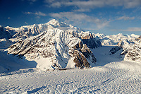 Aerial Winter landscape of Denali and the Alaska Range and Ruth Glacier  Winter 2017<br /> <br /> Photo by Jeff Schultz/SchultzPhoto.com  (C) 2017  ALL RIGHTS RESERVED