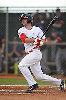 Illinois State Redbirds Paul DeJong (14) during a game against the Bucknell Bison on March 8, 2015 at North Charlotte Regional Park in Port Charlotte, Florida.  Bucknell defeated Illinois State 13-8.  (Mike Janes Photography)