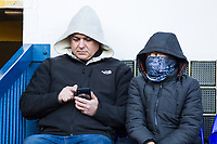 Wrapped up warm at a chilly Portman Road during Ipswich Town vs Preston North End, Sky Bet EFL Championship Football at Portman Road on 3rd November 2018