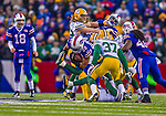 14 December 2014: Buffalo Bills running back Fred Jackson goes up the middle for short yardage in the fourth quarter against the Green Bay Packers at Ralph Wilson Stadium in Orchard Park, NY. The Bills defeated the Packers 21-13, snapping the Packers' 5-game winning streak and keeping the Bills' 2014 playoff hopes alive. Mandatory Credit: Ed Wolfstein Photo *** RAW (NEF) Image File Available ***