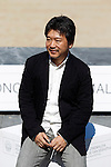 Japanese director Hirokazu Kore-Eda after the screening of their film 'Kiseki' (I Wish) during the 59th San Sebastian Donostia International Film Festival - Zinemaldia.September 20,2011.(ALTERPHOTOS/ALFAQUI/Acero)