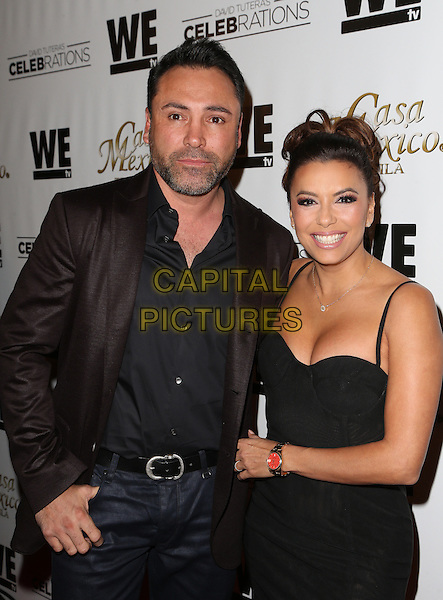 Hollywood, CA - November 06 Eva Longoria, Oscar De La Hoya Attending Mario Lopez Introduces Casa Mexico Tequila On WE tv's David Tutera CELEBrations At Beso On November 06, 2015. <br /> CAP/MPI/FS<br /> &copy;FS/MPI/Capital Pictures