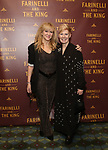 Sonia Friedman and Claire Van Kampen attends the Broadway Opening Night performance After Party for 'Farinelli and the King' at The Belasco Theatre on December 17, 2017 in New York City.