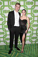 BEVERLY HILLS, CA - JANUARY 6: Levi Meaden and Ariel Winter at the HBO Post 2019 Golden Globe Party at Circa 55 in Beverly Hills, California on January 6, 2019. <br /> CAP/MPIFS<br /> ©MPIFS/Capital Pictures