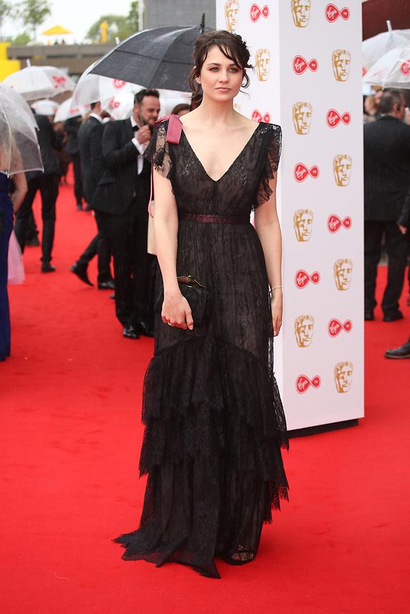 Tuppence Middleton<br />  arriving at the Bafta Tv awards 2017. Royal Festival Hall,London  <br /> ©Ash Knotek