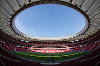 General view of Wanda Metropolitano Stadium before the match between Real Madrid v Rayo Vallecano of LaLiga, 2018-2019 season, date 2. Wanda Metropolitano Stadium. Madrid, Spain - 25 August 2018. Mandatory credit: Ana Marcos / PRESSINPHOTO
