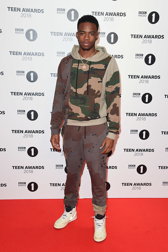 Not 3s<br /> arriving for the Radio 1 Teen Awards 2018 at Wembley Stadium, London<br /> <br /> ©Ash Knotek  D3454  21/10/2018