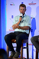 Potomac, MD - May 15, 2017: 2016 Quicken Loans National Champion Billy Hurley III holds a media conference at TPC Potomac May 15, 2017 in Potomac, MD.  (Photo by Don Baxter/Media Images International)