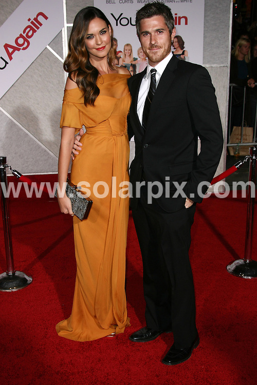 **ALL ROUND PICTURES FROM SOLARPIX.COM**                                             **SYNDICATION RIGHTS FOR UK, AUSTRALIA, DENMARK, PORTUGAL, S. AFRICA, SPAIN & DUBAI (U.A.E) & ASIA (EXCLUDING JAPAN) ONLY**                                                                                  Caption:  You Again Los Angeles Premiere - Arrival, El Capitan Theatre, CA, USA, 22 September 2010                                                                             This pic: Odette Yustman and Dave Annable                                                                                         JOB REF: 12175    PHZ charlotte    DATE: 22_09_2010                                                            **MUST CREDIT SOLARPIX.COM OR DOUBLE FEE WILL BE CHARGED**                                                                      **MUST AGREE FEE BEFORE ONLINE USAGE**                               **CALL US ON: +34 952 811 768 or LOW RATE FROM UK 0844 617 7637**