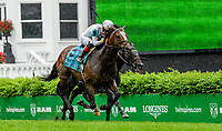 LOUISVILLE, KY - MAY 05: Yoshida #5, ridden Jose L. Ortiz, wins the Old Forester Turf Classic on Kentucky Derby Day at Churchill Downs on May 5, 2018 in Louisville, Kentucky. (Photo by Sue Kawczynski/Eclipse Sportswire/Getty Images)
