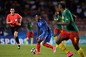 June 8th 2017, Créteil, France, U-21 International football friendly, France versus Cameroon;  Jonathan Bamba (fra)