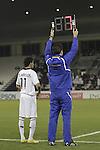Al-Sadd vs Al-Ittihad during the 2011 AFC Champions League Play Off match on February 12, 2011 at the Tahnoun bin Mohammed Stadium in Al Ain, United Arab Emirates. Photo by World Sport Group