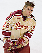 Paul Stastny - The Ferris State Bulldogs defeated the University of Denver Pioneers 3-2 in the Denver Cup consolation game on Saturday, December 31, 2005, at Magness Arena in Denver, Colorado.