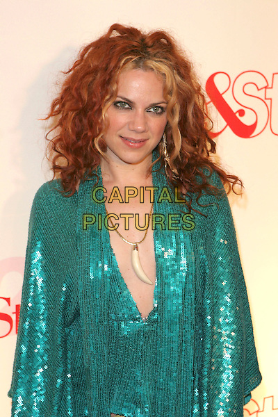 NIKKA COSTA.Attends Life & Style Magazine Presents Stylemakers 2005 held at the Monmartre Lounge, Hollywood, California. USA, 26 May 2005. .half length green sequined top.Ref: ADM.www.capitalpictures.com.sales@capitalpictures.com.©Zach Lipp /AdMedia/Capital Pictures.