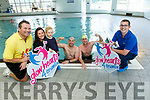 Launch of 24 hour swimming marathon for three charities at the Tralee Sports and Leisure Centre on April 29th and 30th. Pictured John Dowling, Jenny Pye, Sadie O'Donovan, Kristian O'Donovan, Kyle O'Donovan and Kieran O'Flaherty