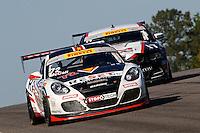 Buz McCall, #72 Porsche, Pirelli World Challenge, Barber Motorsports Park, Leeds, Alabama, April 2014(Photo by Brian Cleary/www.bcpix.com)