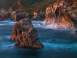 Seastacks, Point Lobos State Reserve, California, USA
