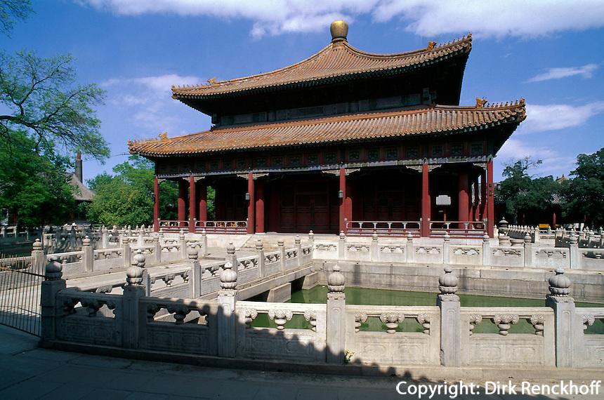 Kaiserliche Akademie (Biyong) in Peking (beijing), China