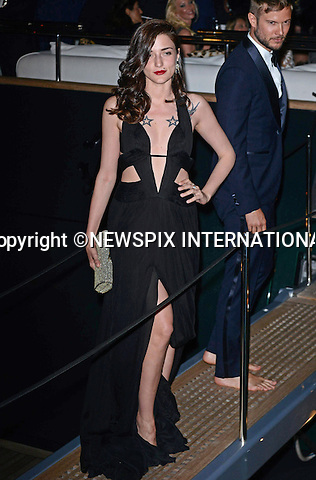 ELEONORA CARISI<br /> attends Roberto Cavalli's Party on board his yacht during the Cannes Film Festival_21/05/2014<br /> Mandatory Credit Photo: &copy;NEWSPIX INTERNATIONAL<br /> <br /> **ALL FEES PAYABLE TO: &quot;NEWSPIX INTERNATIONAL&quot;**<br /> <br /> IMMEDIATE CONFIRMATION OF USAGE REQUIRED:<br /> Newspix International, 31 Chinnery Hill, Bishop's Stortford, ENGLAND CM23 3PS<br /> Tel:+441279 324672  ; Fax: +441279656877<br /> Mobile:  07775681153<br /> e-mail: info@newspixinternational.co.uk