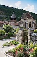 France, Lot (46), Espagnac-Sainte-Eulalie, l'église Notre-Dame-de-Val-Paradis // France, Lot, Espagnac Sainte Eulalie, Notre Dame de Val Paradis
