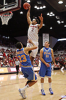STANFORD, CA - JANUARY 9:  Landry Fields of the Stanford Cardinal during Stanford's 70-59 win over the UCLA Bruins on January 9, 2009 at Maples Pavilion in Stanford, California.