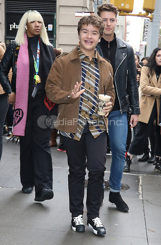NEW YORK, NY- October 31: Gaten Matarazzo at Build Series promoting the new season of Netflix's Stranger Things on October 31, 2019 in New York.City. Credit: RW/MediaPunch