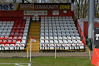 Stevenage Community Zone during Stevenage vs Cambridge United, Sky Bet EFL League 2 Football at the Lamex Stadium on 14th April 2018
