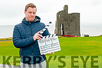 "New Film : Kevin Kelleher pictured in Ballybunion to announce his new film ""Lemon Drops"" on Sunday last."